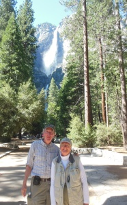 Ed and Chris at Yosemite Falls