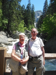 Ed and Chris by Vernal Falls