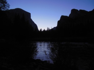 Sunrise El Capitan on left