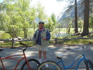 Biking at Yosemite