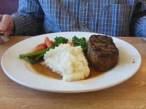 Wild buffalo meat loat at Whoa Nellies deli