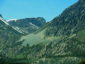 Back over Tioga Pass