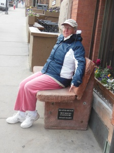 Park CIty heated bench