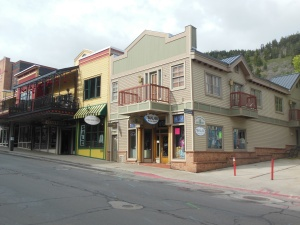 Example of historic district buildings