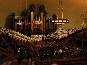 Choir at practice