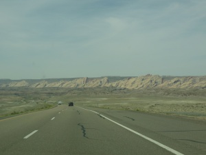 driving to Capitol Reef