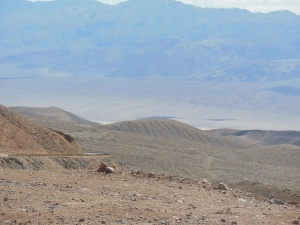 Part of the drive out of Death Valley