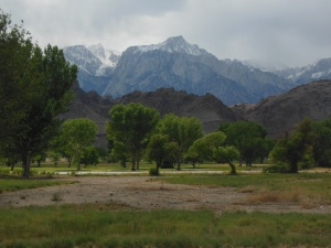 Sierra Nevada Mtns at Lone Pine, CA