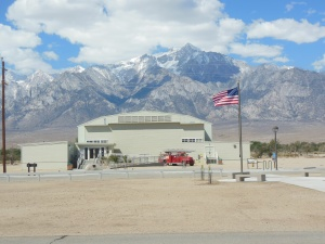 Exhibit center at Manzanar
