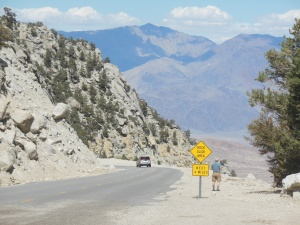 One view from Mt Whitney portal road
