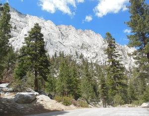 Jumping off point for hikers to Mt. Whitney