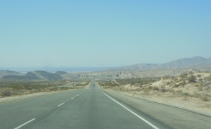 Leaving the eastern side of the Sierra Nevada Mtns