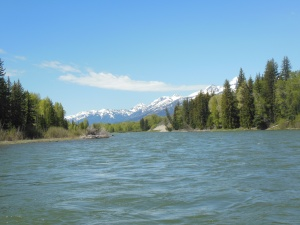 Floating down the Snake River