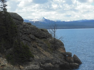 Storm point on Yellowstone Lake