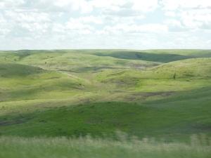 South Dakota along I-90