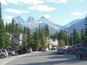 View from front of Canmore residence.