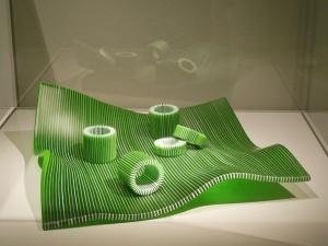 Glass museum item