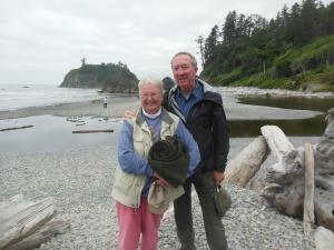 Ed and Chris at Ruby Beach