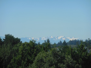 View from galloping goose trail