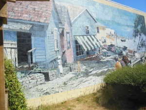 wall mural in Chemainus