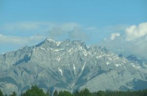 Cascade Mountain overlooking Banff