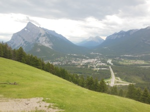 Banff from Norquay Mountain