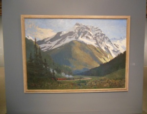 One of the CP Rail sponsored paintings