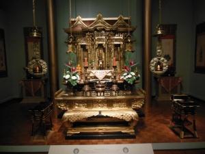 Glenbow museum, Buddhist shrine