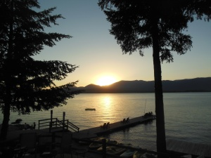 Lake Pond Oreille Idaho