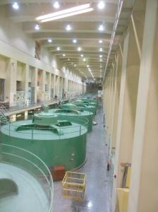 Power generating turbines