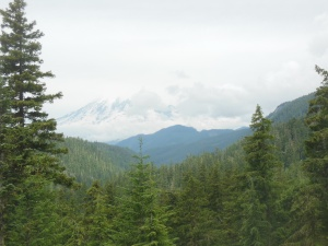 First view of Ranier from White Pass