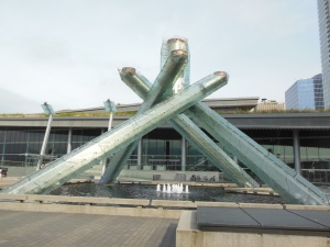 Olympic cauldron from 2010 Olympics