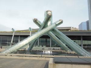 Olympic cauldron from 2010 Olympics