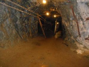 Inside Britannia mine
