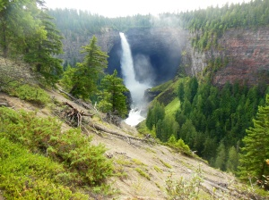 Helmcken Falls in Wells Gray Provincial Park in British Columbia