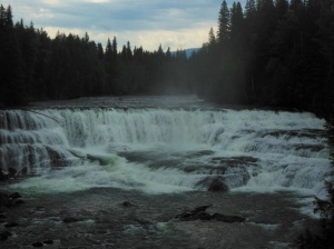 Dawson Falls in Wells Gray