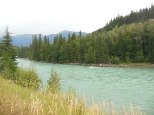 Fraser RIver, another sea foam green colored river