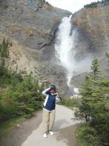 Takakkaw Falls in Yoho National Park