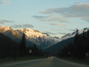 Rogers Pass area by Glacier National Park of Canada