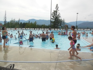 Fairmont Hot Springs pool