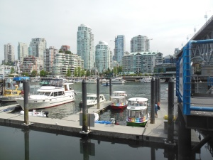 Aquabus at False Creek marina