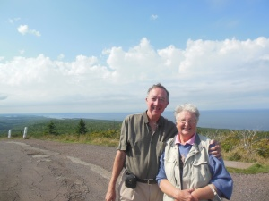 Along Brockway Mountain Drive by Copper  Harbor