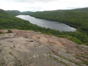 Lake of the Clouds, Porcupine Mountain Wilderness area