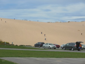 Dune Hill Climb, phase one