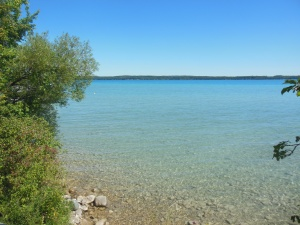 Torch Lake in the Antrim Chain of Lakes