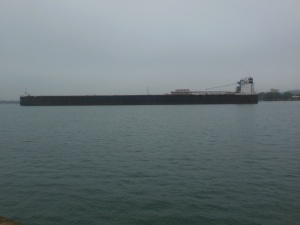 Freighter in St. Mary's River
