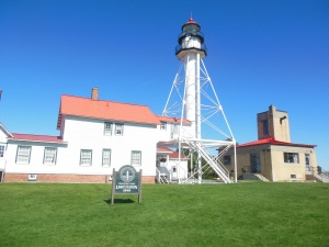 Whitefish  Point Light house