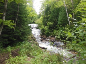 Sable Falls in Pictured Rocks National Lakeshore