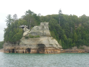 Minors Castle Pictured Rocks