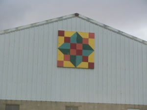Typical decoration on farm buildings